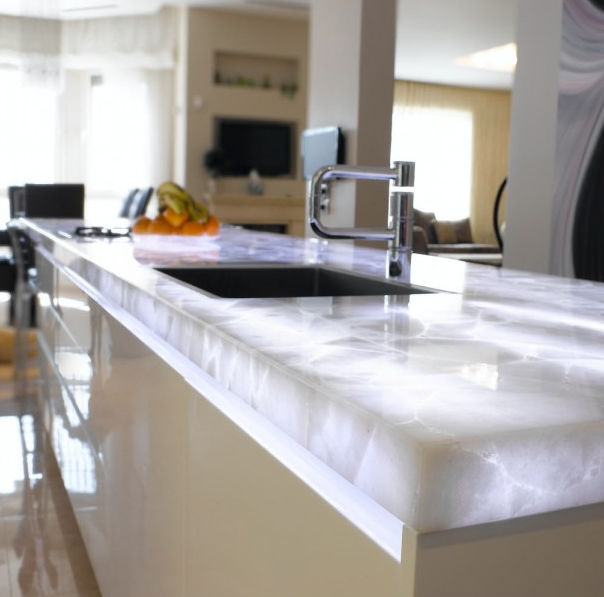 backlit countertops for your home